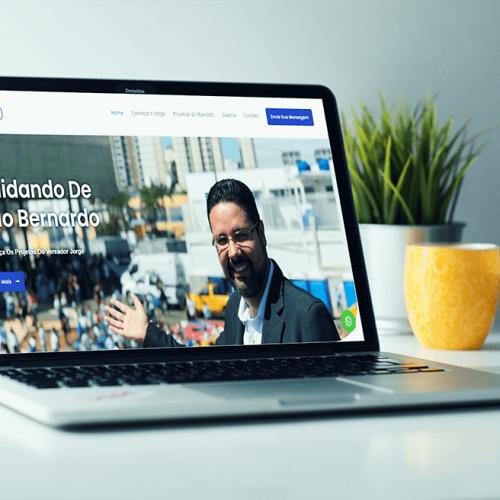 Site Vereador Jorge Araujo