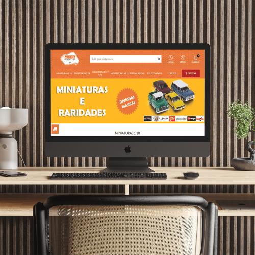 Loja Virtual - Minisclub